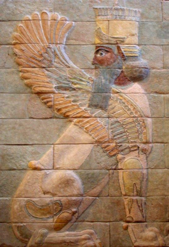 sphinx_darius Palace# Art of Iran